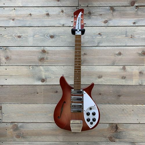 Rickenbacker 325 -1996 Model Rose Morris Fireglo Year 1977